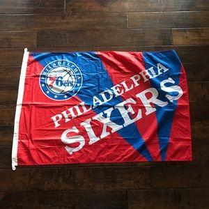 NBA Philadelphia 76ers flag